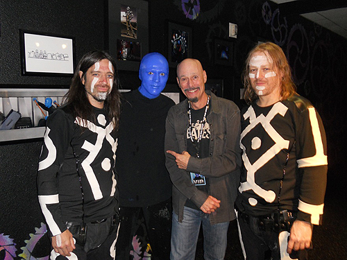 7.17.14 Bob Kulick at Blue Man Group in Monte Carlo Resort and Casino