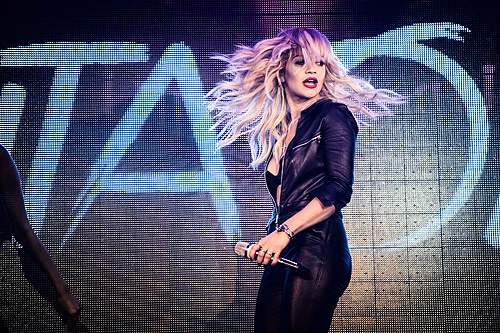 Rita Ora Performance at TAO Nightclub 2