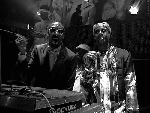 Snoop Dogg and 2 Chainz at TAO