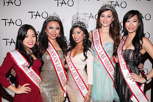 Michelle Jeon Connie Tsang Catherine Ho Alexandra Drechsler Grace Choy at TAO