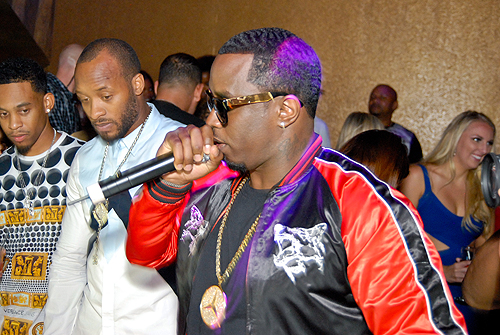 Puff Daddy at Vanity 2