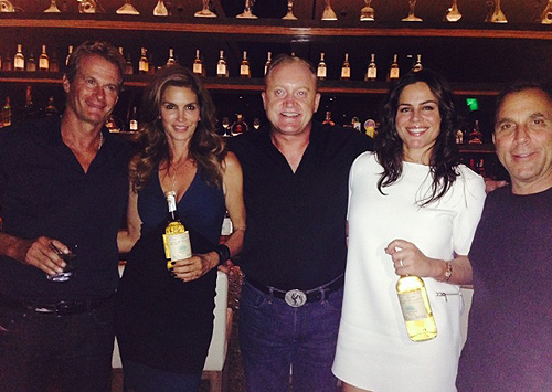 Rande Gerber Cindy Crawford John ODonnell from CRUSH Michael Meldman and his wife