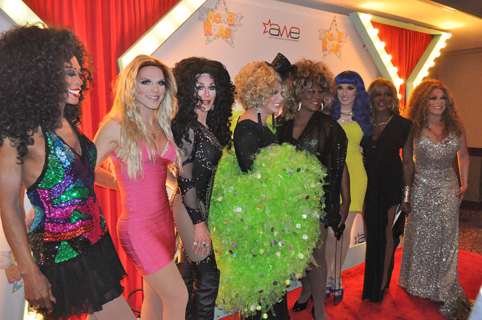 Divas cast Frank Marino Showbiz Roast at The Stratosphere Showroom 27816