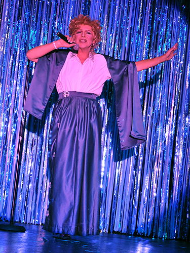 Bette Midler impersonator at An Evening at La Cage in the Four Queens
