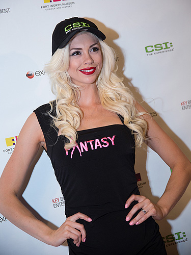Chloe Crawford of FANTASY at CSI The Experience 5th Anniversary