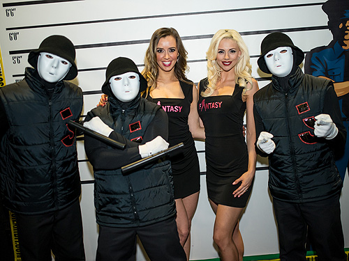 Jabbawockeez and FANTASY at CSI The Experience 5th Anniversary