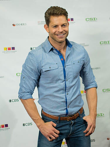 Jaymes Vaughan at CSI The Experience 5th Anniversary