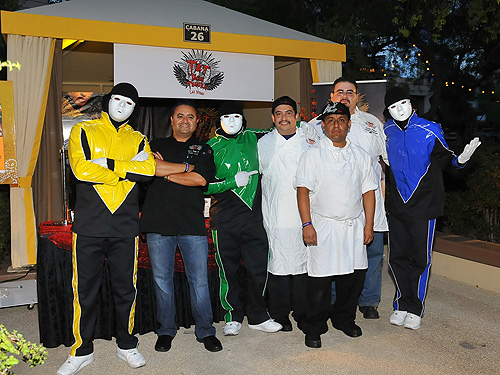 Jabbawockeez and TandT