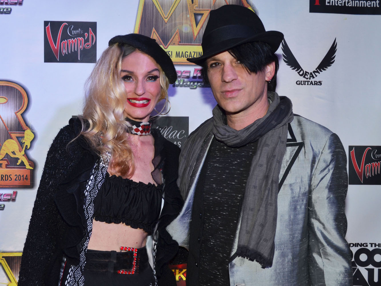 Alicia Perrone Victor James Fans Of Jimmy Century - Vegas Rocks Magazine Music Awards 2014 photo credit Stephen Thorburn 63732 Edit