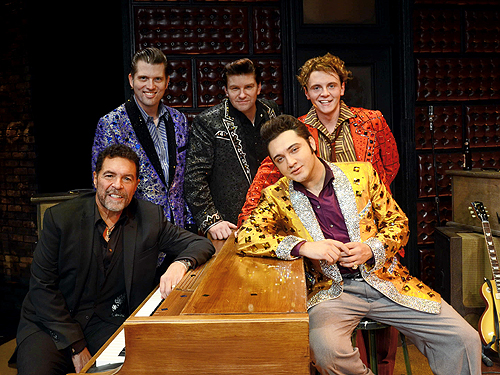 Clint Holmes Jams with Million Dollar Quartet Las Vegas 12.4.14 C Caesars Entertainment 6