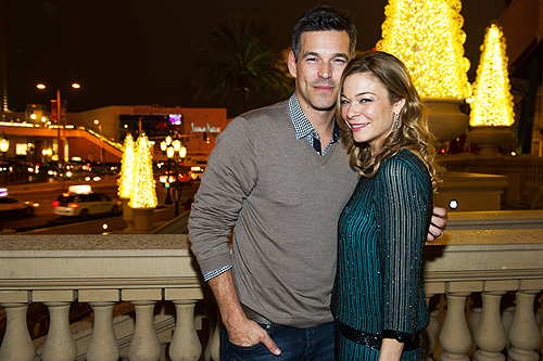 Eddie Cibrian and LeAnn Rimes at LAVO 2
