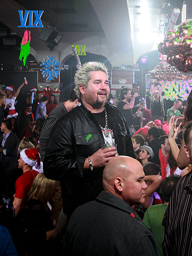 Guy Fieri parties at XIV Vegas Sessions at Hyde Bellagio