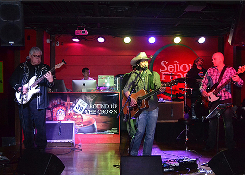 Just Dave Band performs at Senor Frogs Las Vegas