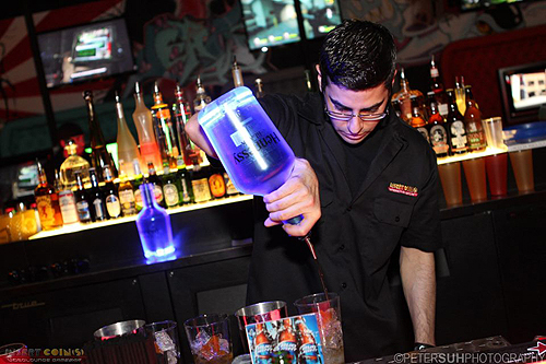 IC Justin creating winning drink