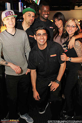 IC bartenders and staff