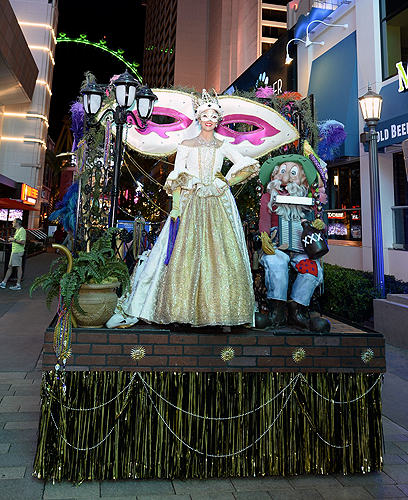 Mardi Gras Celebrations at The LINQ Credit BRYAN STEFFY 2