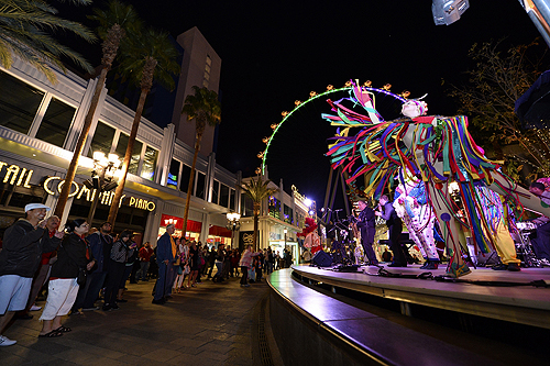 Mardi Gras Celebrations at The LINQ Credit BRYAN STEFFY 4