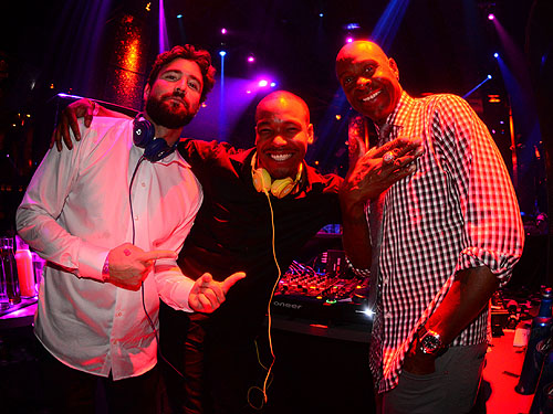 Brody Jenner William Lifestyle Jerry Rice at TAO