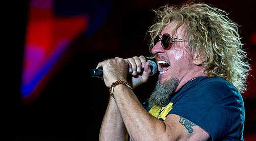 Sammy Hagar Performs at Downtown Las Vegas Events Center 4.11.15