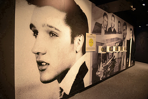 Elvis Gold Records at Elvis The Exhibition