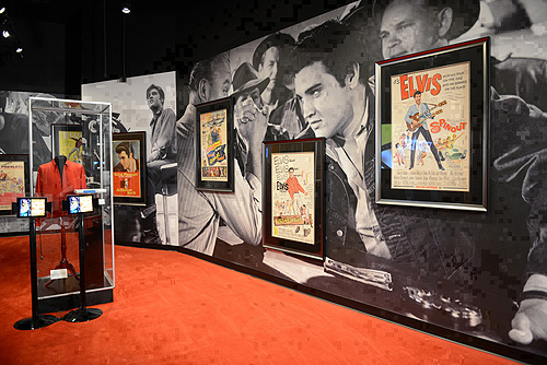 Hollywood Room at Elvis The Exhibition