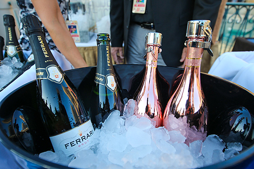 Champagne and Wine selections at UNLVinos Bubble-Licious 4.16.15