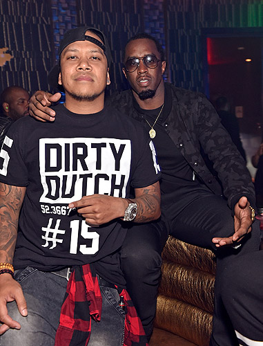 P.Diddy and DJ Chuckie OMNIA Nightclub Grand Opening