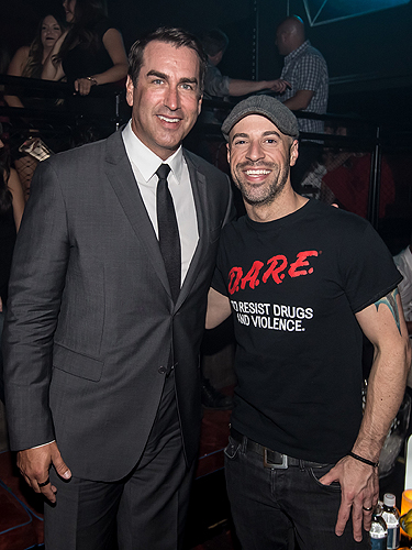6.24 Rob Riggle Chris Daughtry LIGHT Nightclub Photo Credit Powers Imagery