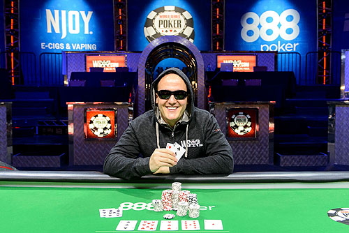 Battle of the News back-to-back winner Shawn Tempesta Photo Credit JAYNE FURMAN WSOP