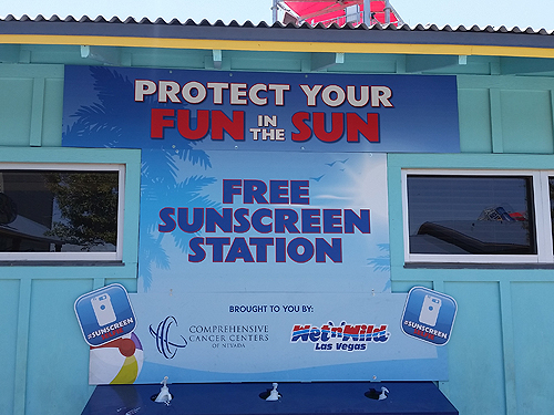 CCCN WnW Sunscreen Kiosk - Selfie sign