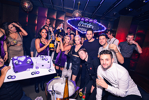 Halsey Celebrates Her Birthday at Marquee