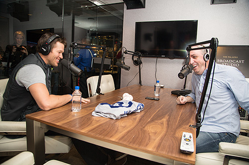 Clayton Kershaw Interviewed by Matt Perrault at The Palazzo Broadcast Studio