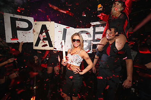 Paige VanZant at Post Fight Afterparty at TAO