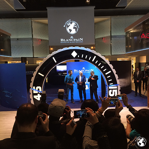 Blancpain Ocean Commitment Exhibition 2015 Inauguration