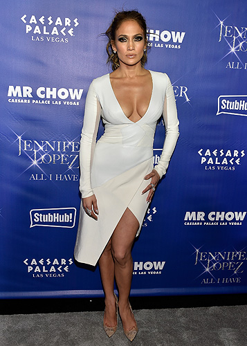 Jennifer Lopez at MR CHOW Grand Opening