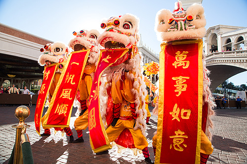 The Venetian and The Palazzo Celebrate Chinese New Year 2016