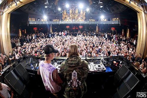 David Guetta and Justin Bieber at XS - 3. 3.25.16 small