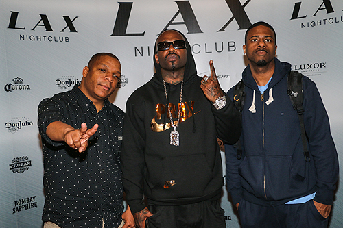 Naughty by Nature at LAX Nightclub inside Luxor Hotel and Casino April 28 6