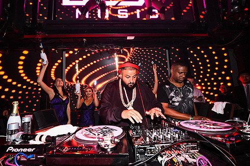 Khaled in DJ Booth at Marquee 5.30.16 Brenton Ho