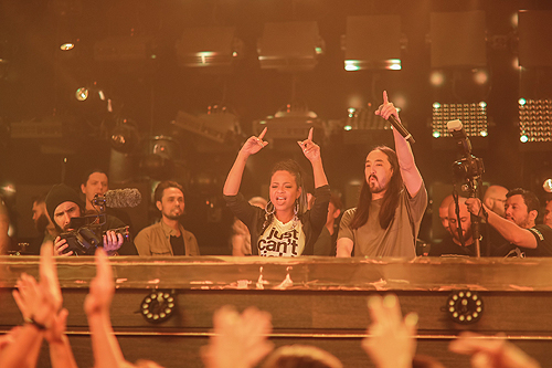 JEWEL Christina Milian and Steve Aoki Photo Credit Tony Tran 2