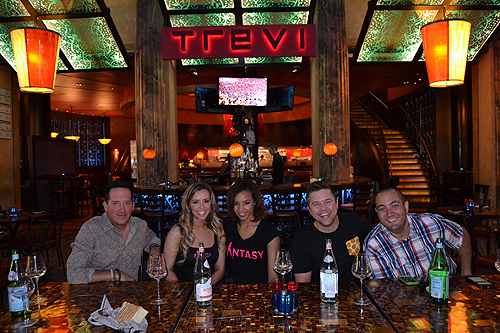Celebrity Judges at TREVI Italian Restaurant PRESS