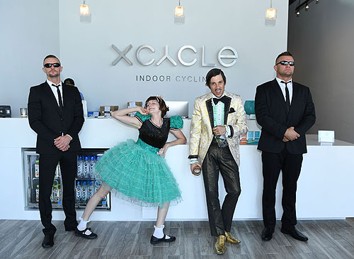 Select cast members from Absinthe Take Over XCYCLE Credit Denise Truscello