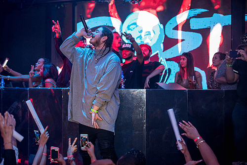 Post Malone at Marquee 7.4 Performace