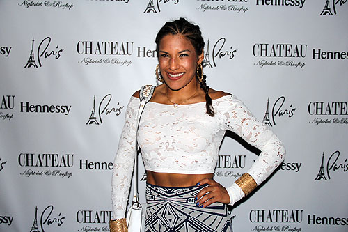 Julianna Pena on the Red Carpet at Chateau