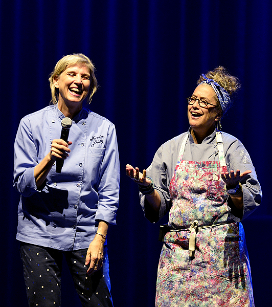 Mary Sue Milliken and Susan Feniger PC Getty