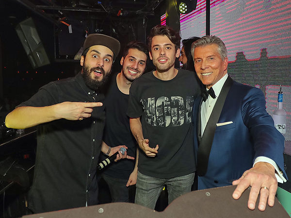 Michael Buffer and Cash Cash at Marquee 11.19.16