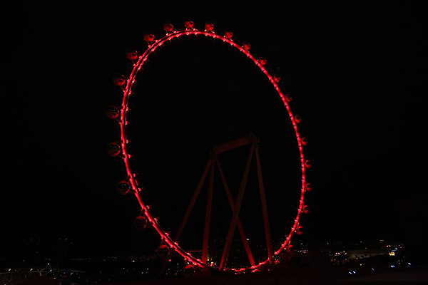 High Roller Observation Wheel Photo courtesy AFAN