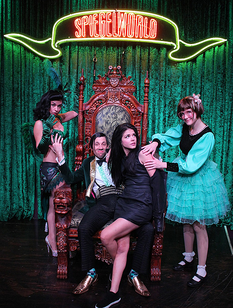 Marie Avgeropoulos at ABSINTHE at Caesars Palace 12.18.16 credit Joseph SandersSpiegelworld 2