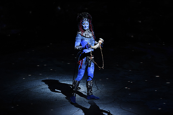 TORUK The First Flight clan leader makes majestic entrance during the shows Las Vegas premiere Jan. 18 2017 Al Powers