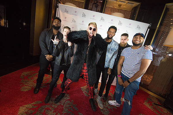 Machine Gun Kelly Launches Drais LIVE Residency at Drais Nightclub Las Vegas 1.22.17 Credit Mike Kirschbaum 2
